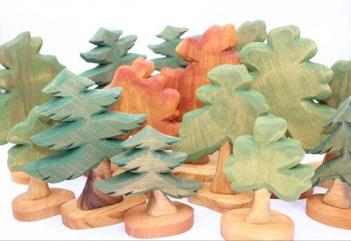 Bäume und Büsche